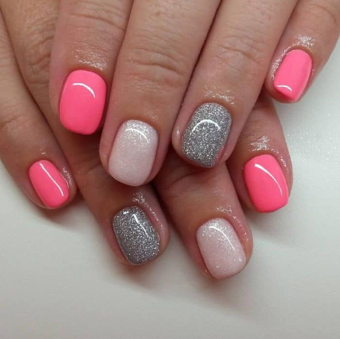 32 Cute Hot Pink Nail Designs Pictures - SheIdeas
