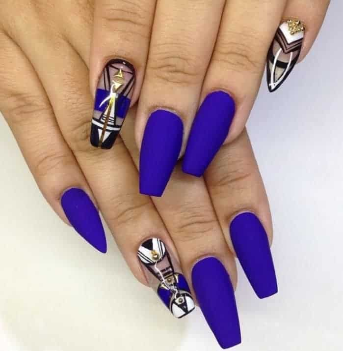 32 Cute Gel Nail Polish Designs for Ladies - SheIdeas