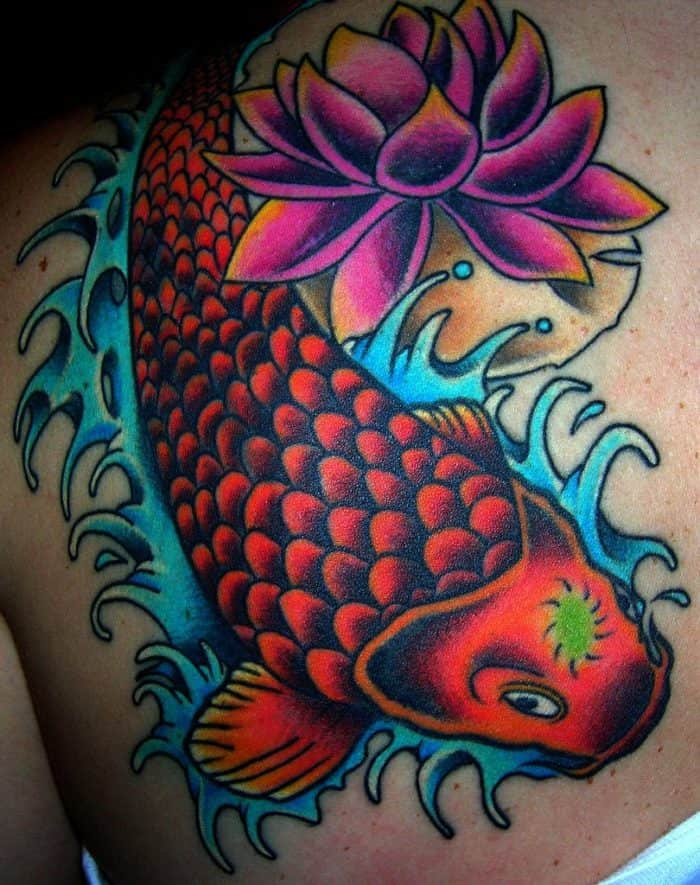 42 Mind Blowing Koi Tattoo Designs Examples