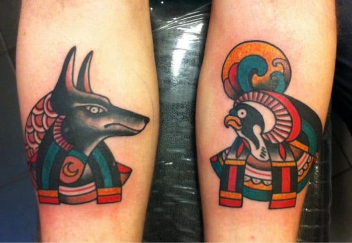 15 cool anubis tattoo designs for inspiration sheideas. Black Bedroom Furniture Sets. Home Design Ideas