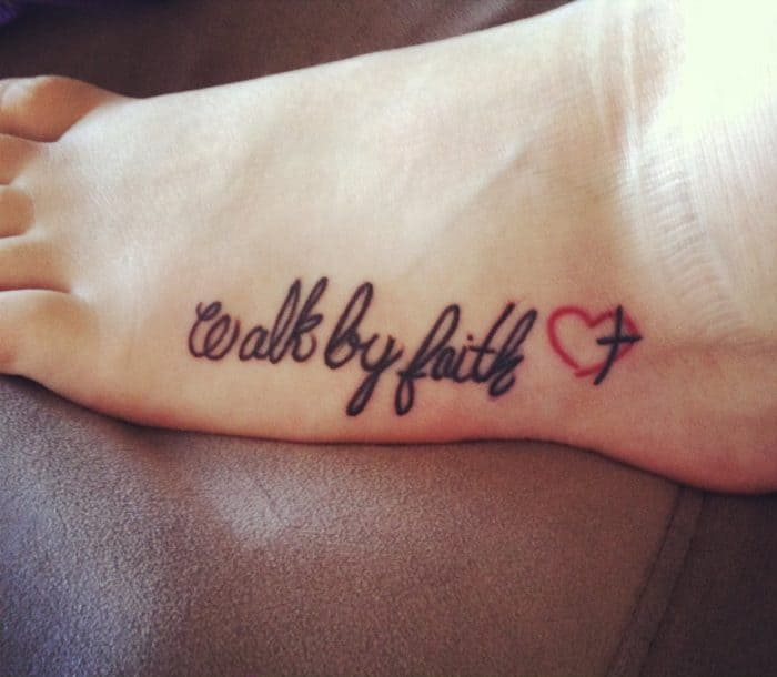 15 Most Interesting Faith Tattoo Designs Sheideas