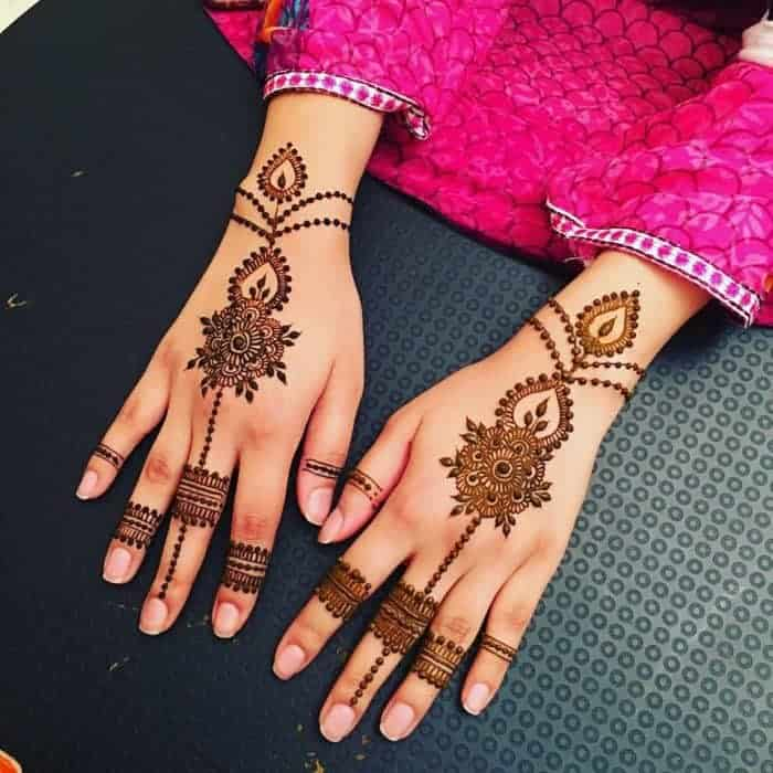 20 Beautiful Khafif Mehndi Designs Images SheIdeas