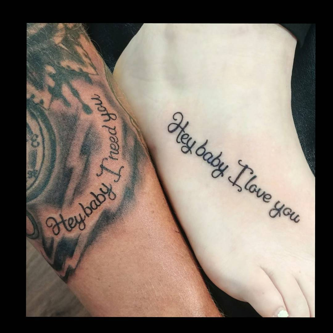 Bonnie And Clyde Matching Tattoos Wwwtopsimagescom