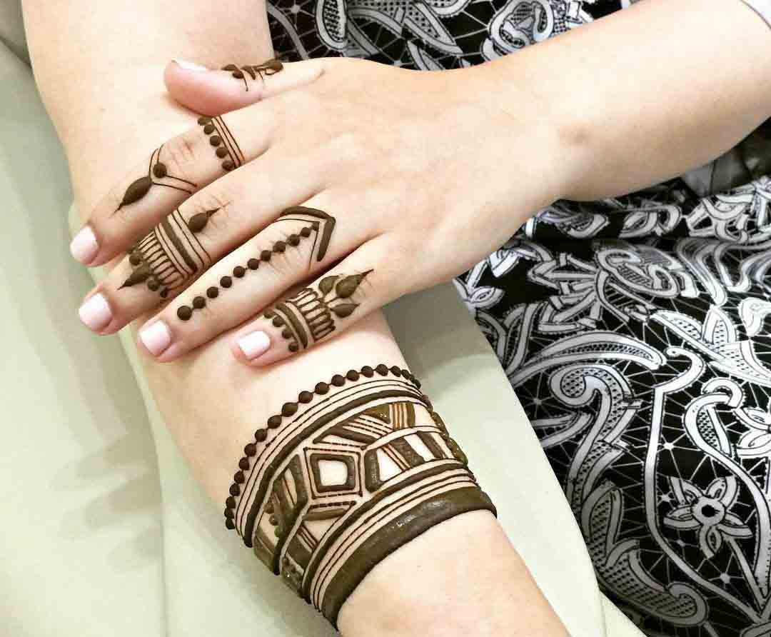 40 Beautiful Khafif Mehndi Designs Images 2019 Sheideas