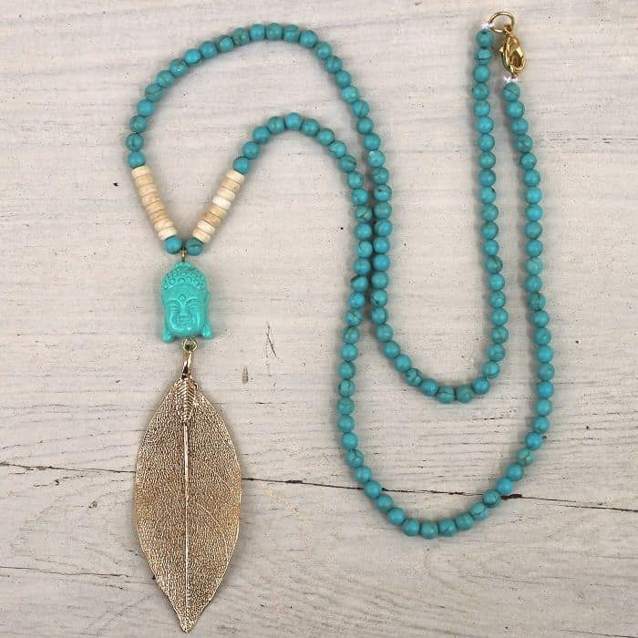 20 Homemade Necklace Designs for Ladies