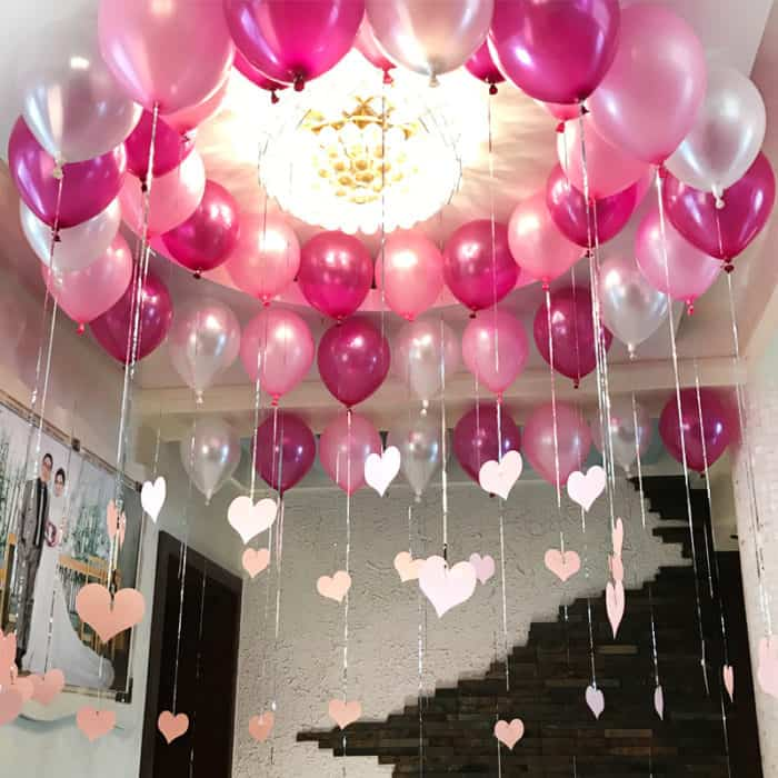 Birthday Room Decoration Design For Girls