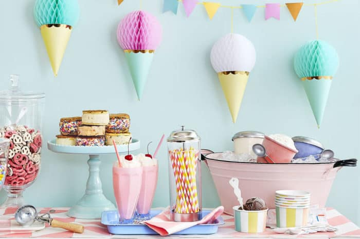 Party Decoration Ideas Without Balloons