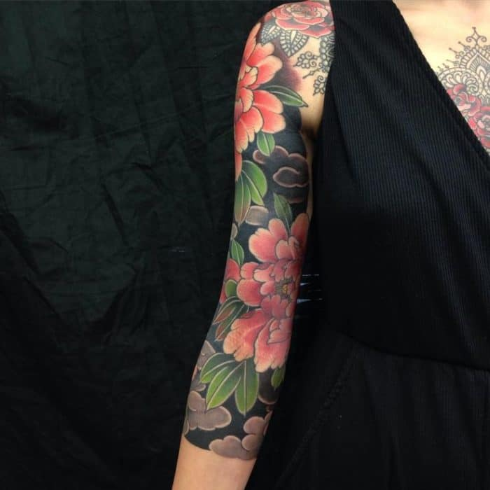 17 Awesome Full Sleeve Tattoo Designs For Females Sheideas