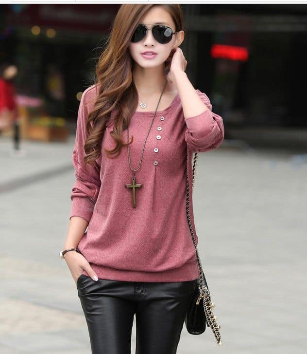 Buy full sleeve tops for girls stylish. Trendydivva has wide range of tops online in India. Checkout variety of tops for Free shipping Cash on Delivery.