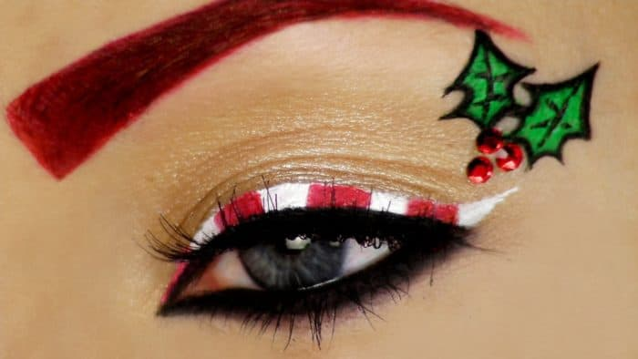 25 Best Christmas Makeup Looks for Ladies – SheIdeas