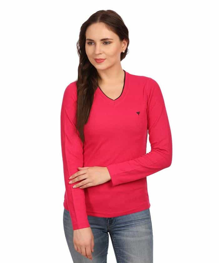 Buy Full Sleeve T-shirts Online. There are many ways to make yourself feel good about your appearance; you can experiment with hairstyles, you can accessorize your outfit with trendy statement pieces, or spritz on a few drops of your favourite perfume.