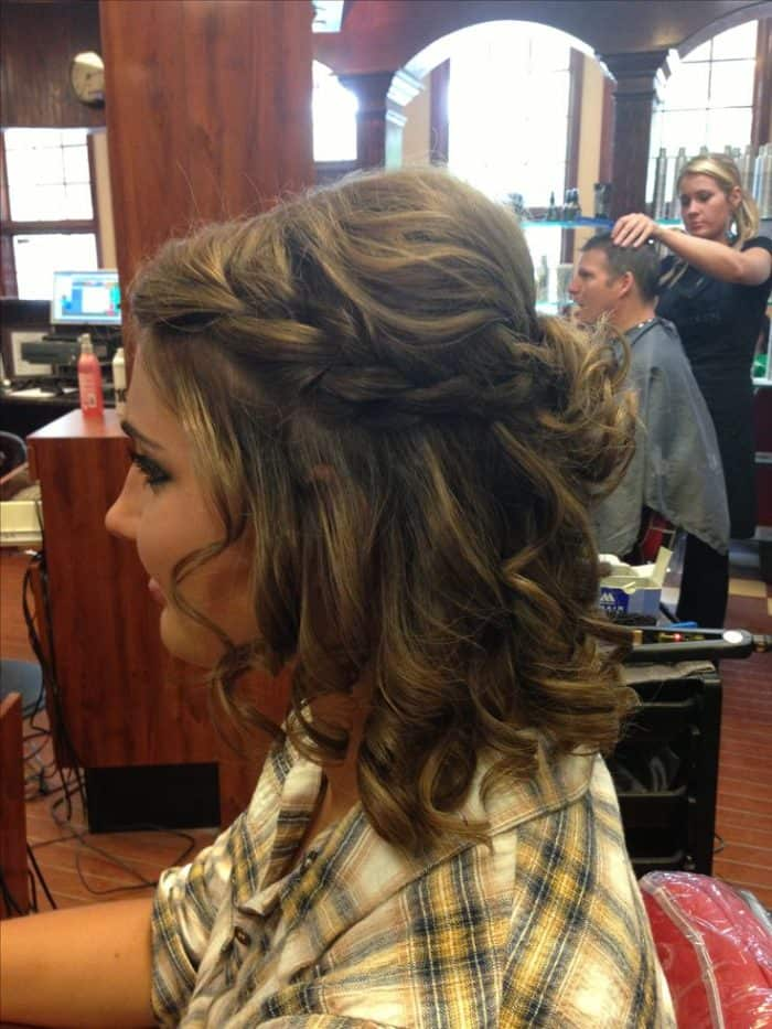 super easy party hairstyles for ladies sheideas