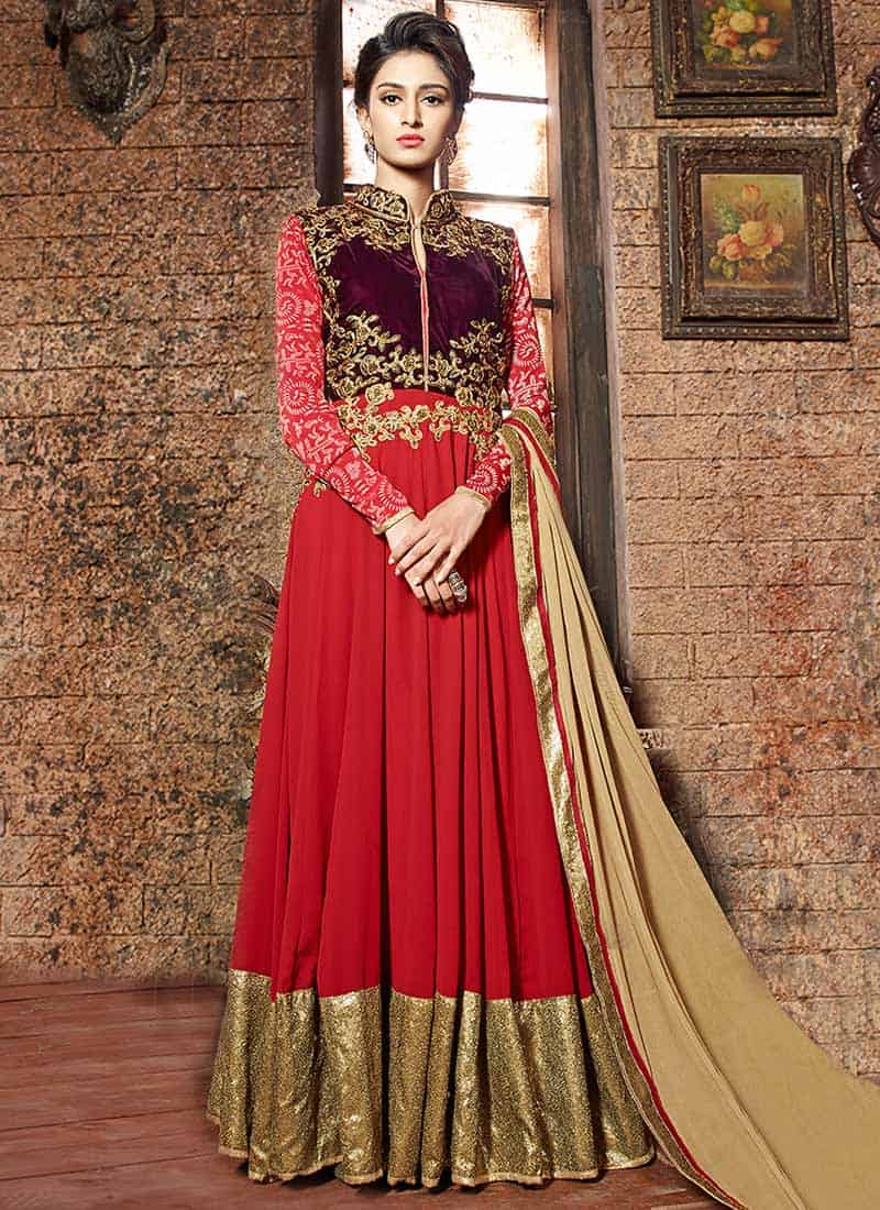 50 Latest Frock Design Photos for Ladies 2018