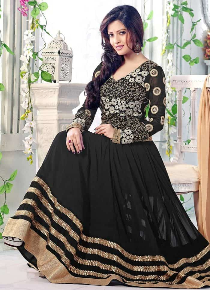 50 Latest Frock Design Photos for Ladies 2019