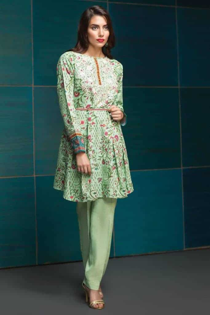 35 latest short frock designs for ladies sheideas for Pakistani simple house designs