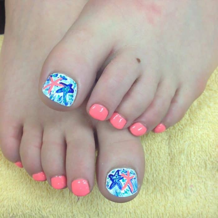 Cool Nail Designs For Fall: 30 Majestic Fall Toe Nail Designs Images For 2019