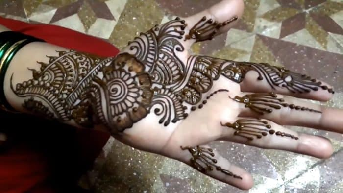 Mehndi Hand Image : Beautiful front hand mehndi designs images sheideas