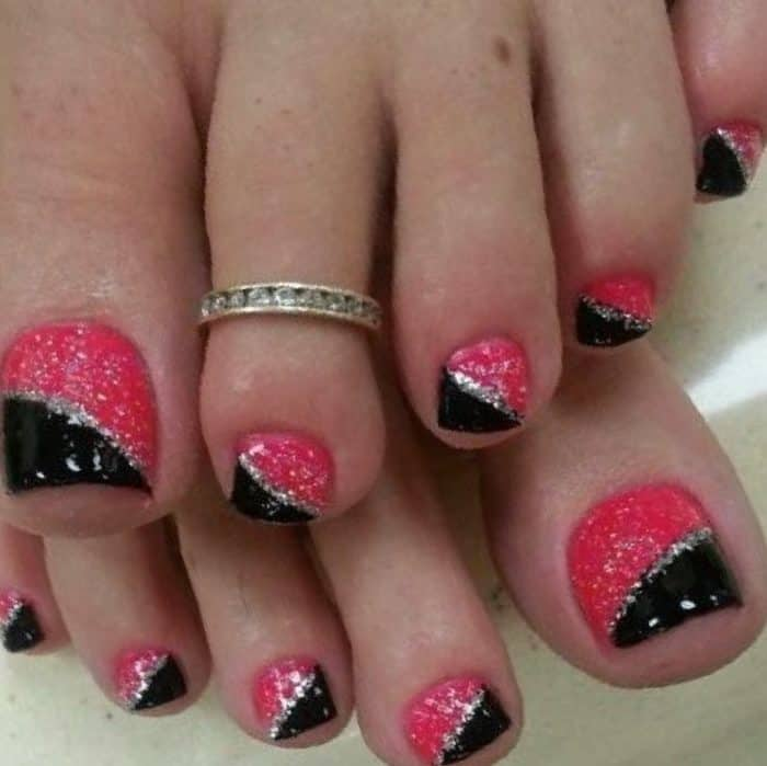 30 Majestic Fall Toe Nail Designs Images For 2018 Sheideas