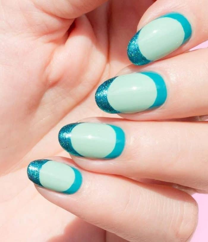 30 Impressive Teal Nail Art Designs For 2019