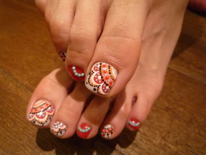 30 Majestic Fall Toe Nail Designs Images For 2019 Sheideas