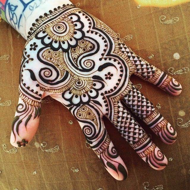 Mehndi Designs Of Front Hand : Beautiful front hand mehndi designs images sheideas