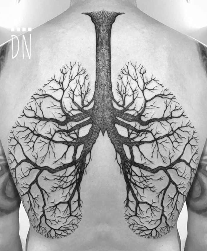 16 Eye Catching Lung Tattoo Designs Pictures – SheIdeas