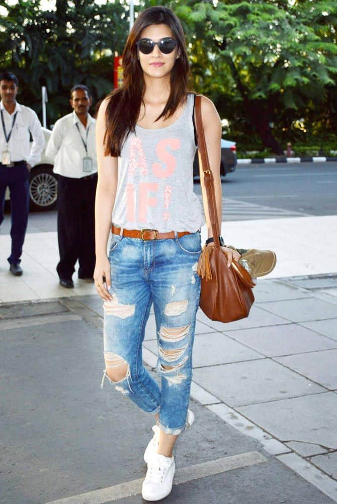 Bollywood Celebrity Airport Style