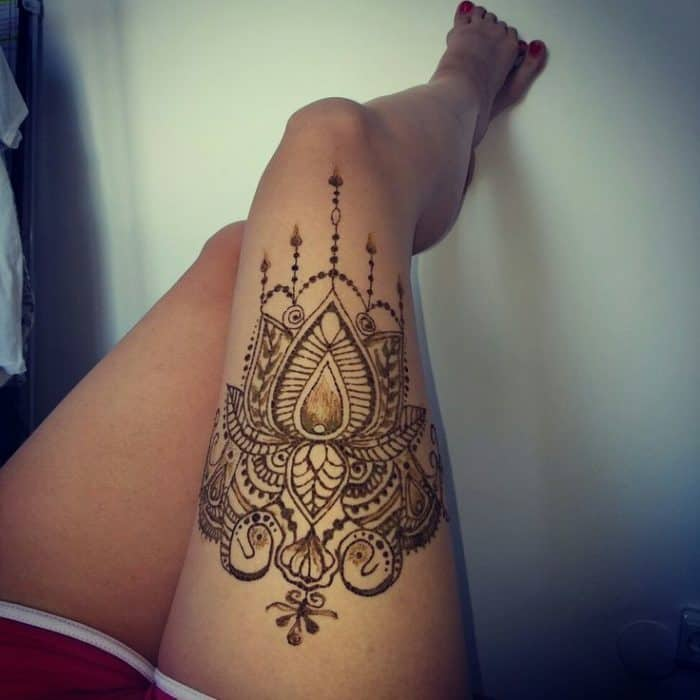 30 Stylish Summer Henna Tattoo Designs 2019 Sheideas