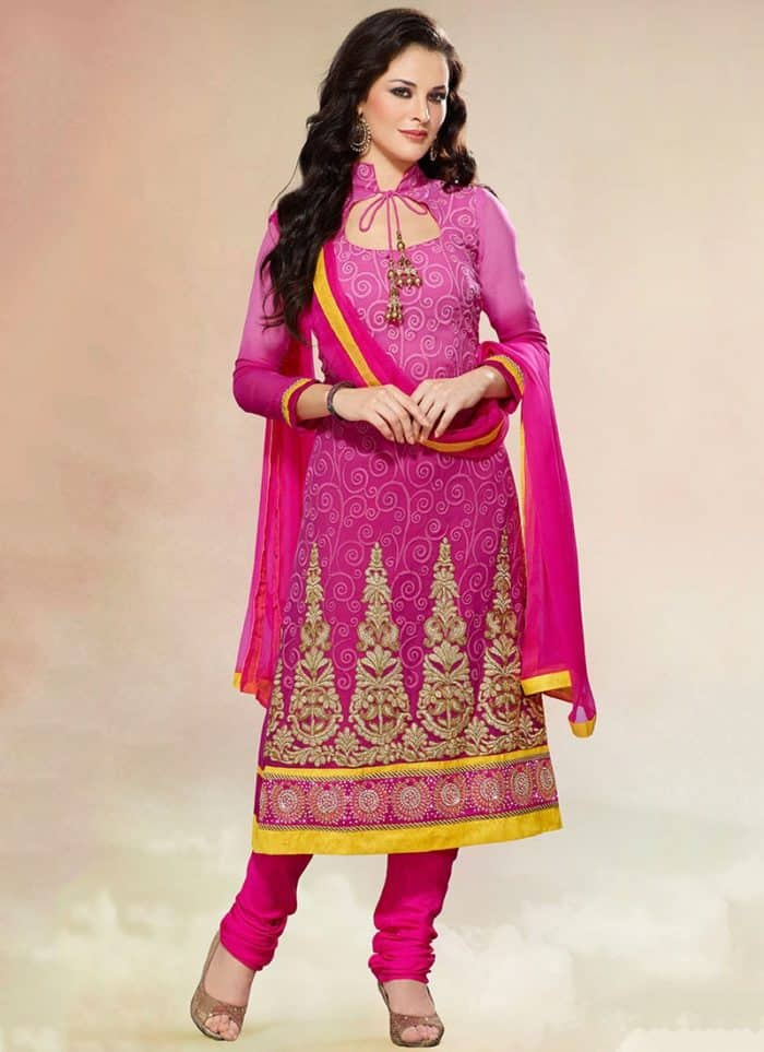 Churidar Salwar Suit Neck Design Sheideas