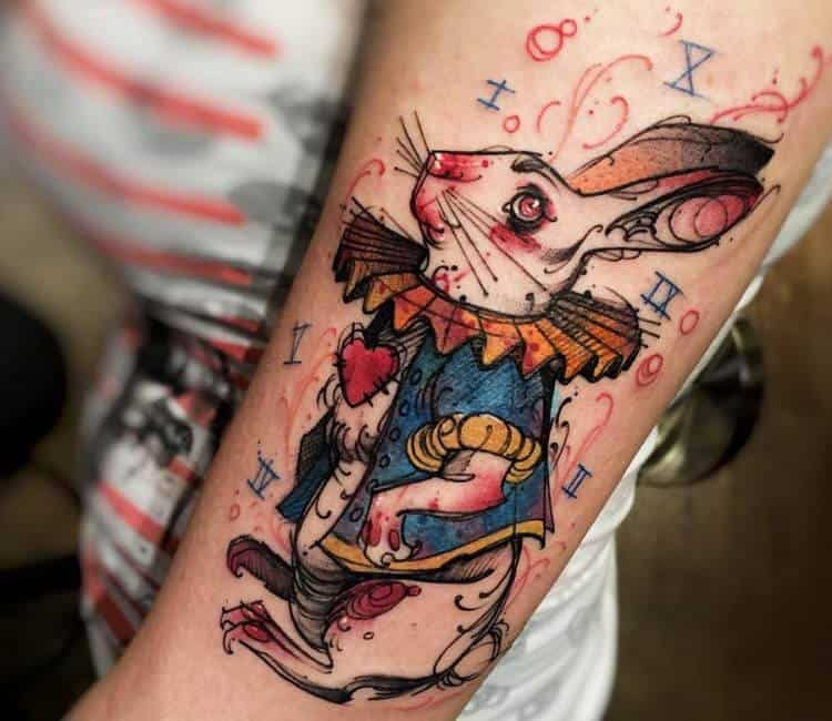 Bunny Tattoo Ideas