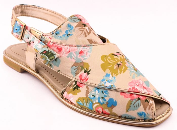 46daa0229 Floral Printed Style Shoes Design for Girls. Stylo Summer Shoes Collection