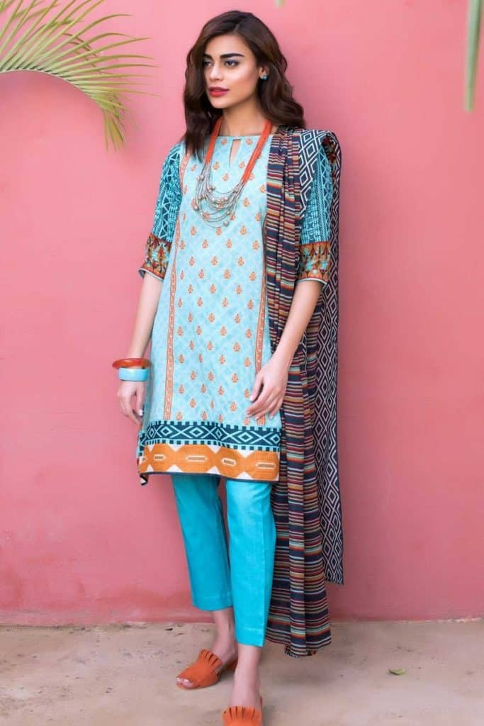 30 Latest Khaadi Lawn Collection 2019 SheIdeas