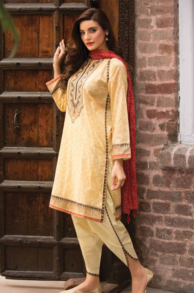 c4750c1ea6 25 Latest Tulip Salwar Kameez Designs for Ladies 2019 – SheIdeas