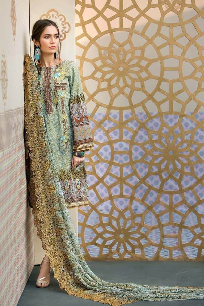 30 Best Gul Ahmed Summer Lawn Collection 2018