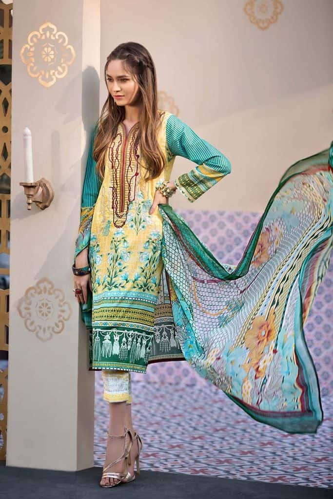 30 Best Gul Ahmed Summer Lawn Collection 2019