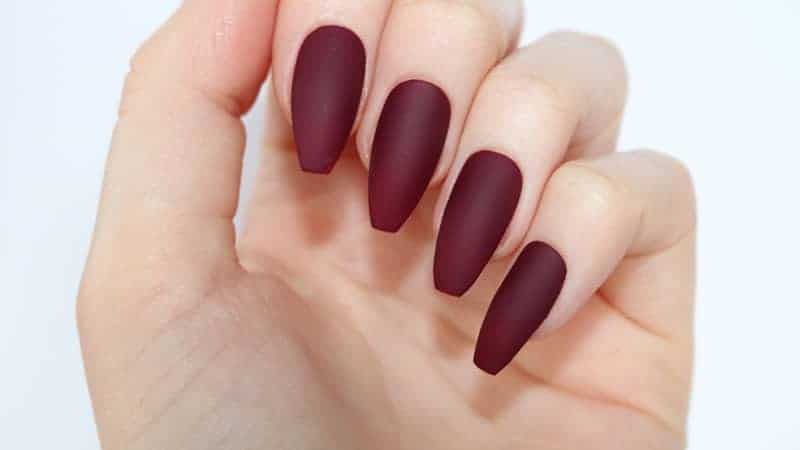 almond shaped nail ideas