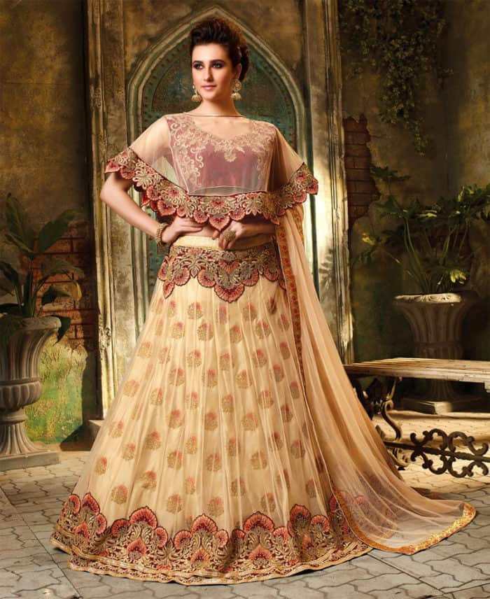 Latest Designs Of Wedding Gowns: 30 Latest Lehenga Blouse Designs Images 2019