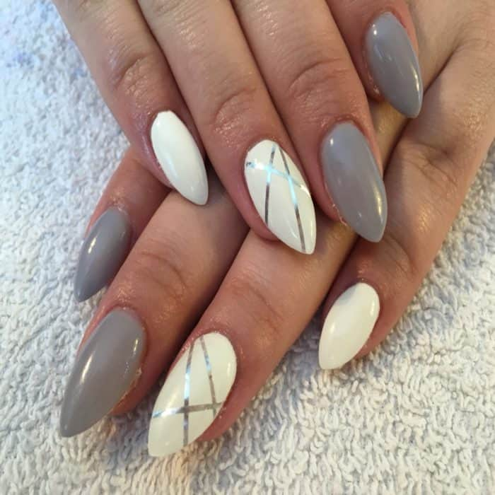 20 beautiful almond nail designs almonds and almond nails ...