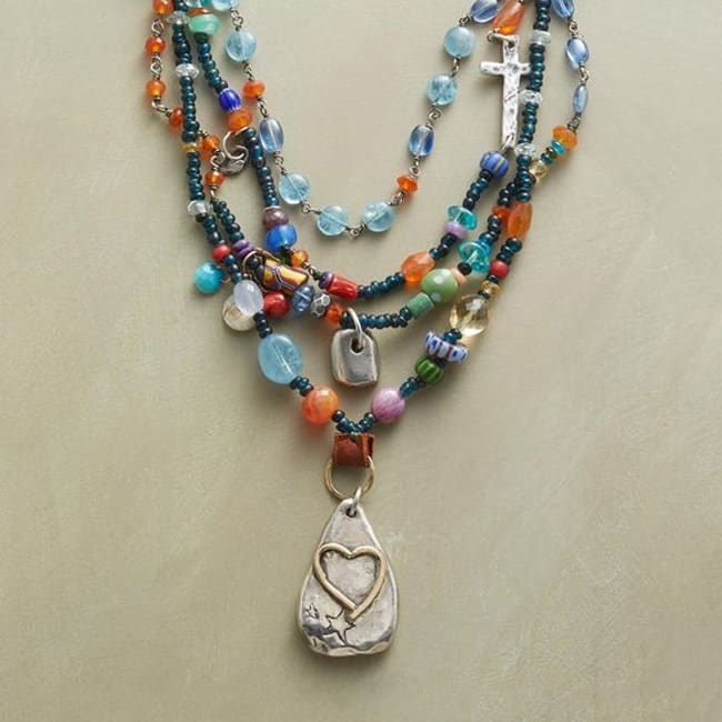gemstone necklace design ideas
