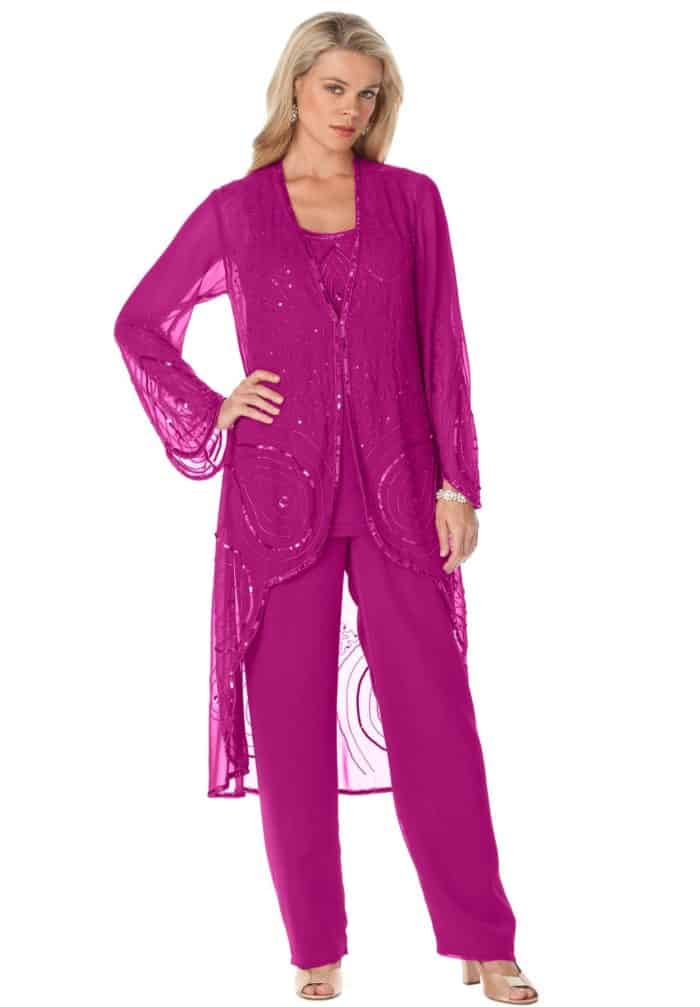 25 Gorgeous Ladies Evening Trouser Suits for Party