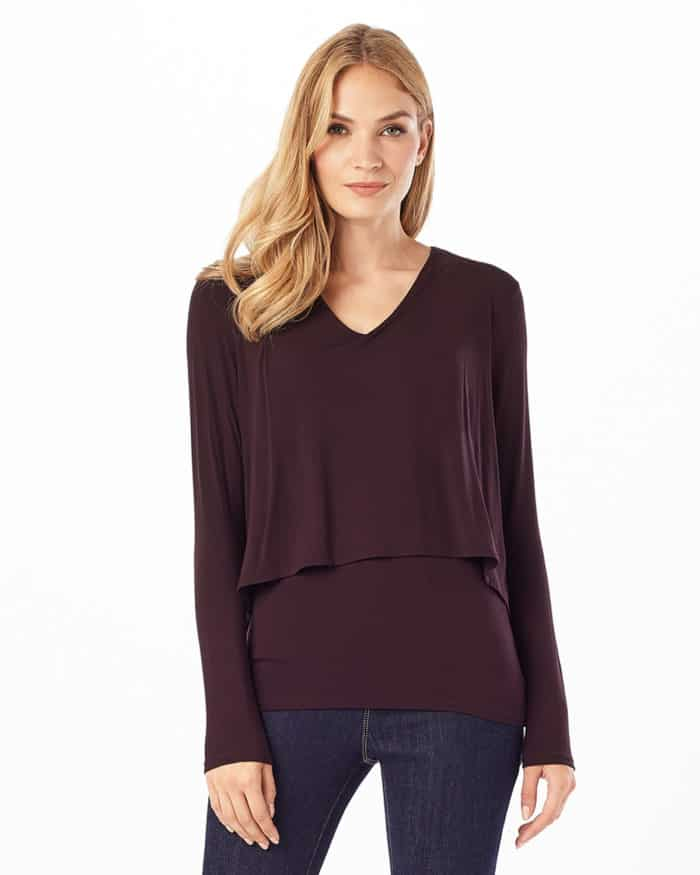 Ladies Double Layer Tops
