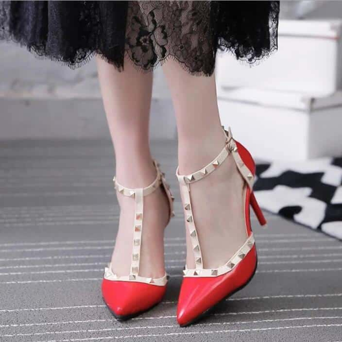 30 Latest Ladies Pencil Heel Shoes Photos