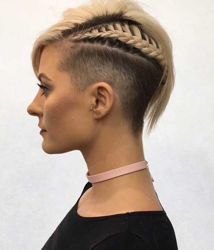Ladies Shaved Hairstyles