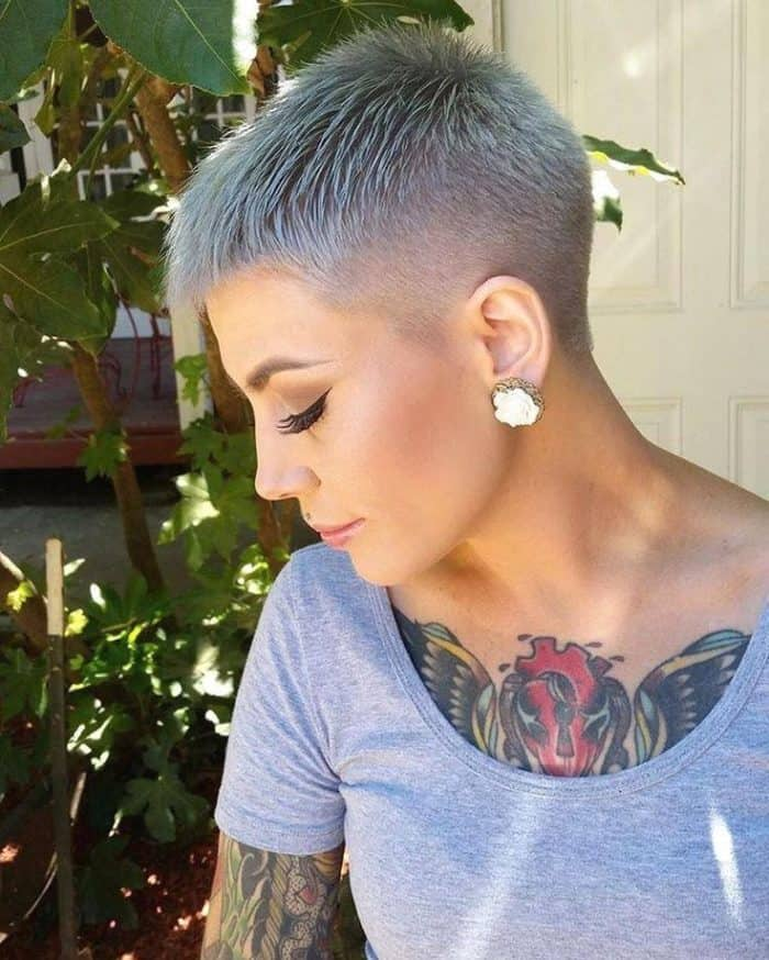 20 Stylish Images of Ladies Shaved Hairstyles 2019 – SheIdeas