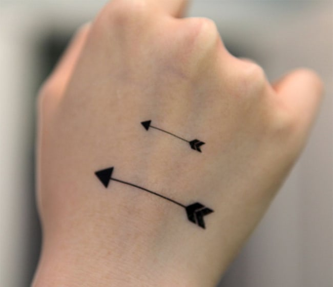 Cool Small Hand Tattoos