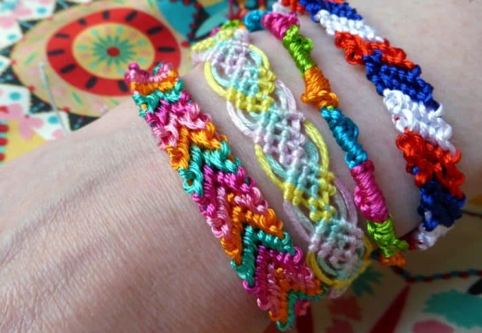 Embroidery Bracelets Designs