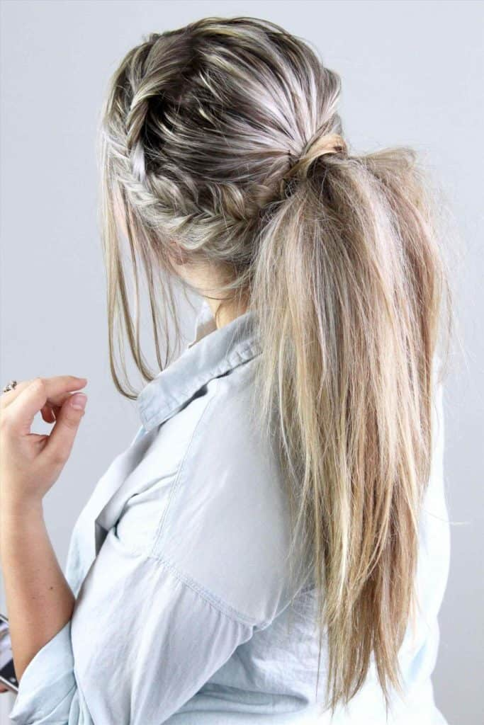30 Simple Ponytail Hairstyles for Everyday - SheIdeas