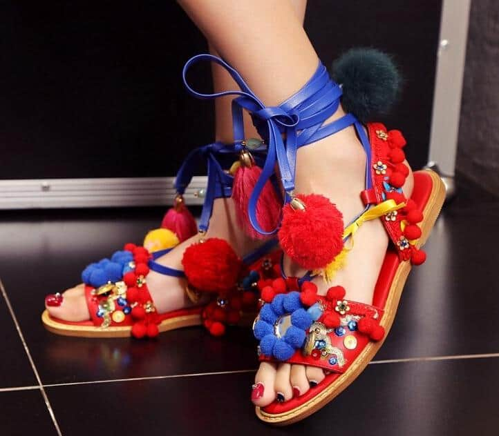 25 Stylish Colorful Summer Shoes Images 2019