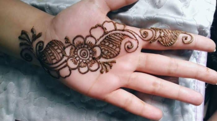 Simple Mehndi Design Images