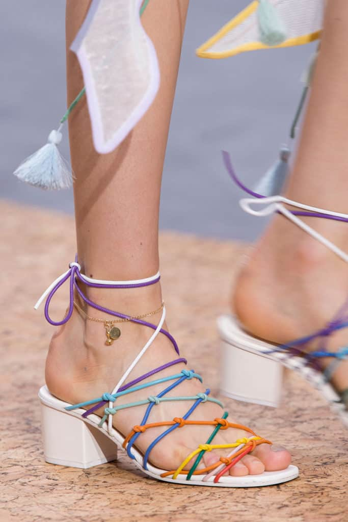 Colorful Summer Shoes Images